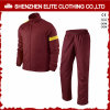Custom Logo Wholeasle Sport Training Tracksuit Burgundy (ELTTI-25)