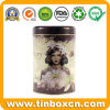 Gift Tin Box Packaging Metal Tea Can Round Tin