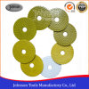 100mm Diamond Economic Wet Polishing Pad for Granite