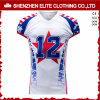Custom Logo Mens White American Football Jersey (ELTSJI-39)