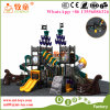 Cowboy Fashion and Eco-Friendly Material Outdoor Kids Plastic Slide Game Playground for Kids