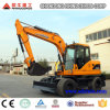 Big Wheel Excavator X120-L 12ton 0.45 with Ce ISO