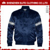Wholesale Satin Baseball Jacket in Blue for Men (ELTBJI-52)