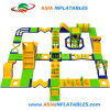 Custom Design Outdoor Water Park, Giant Inflatable Floating Park for Open Water Entertainment