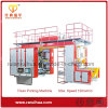 PLC Control High Speed 4 Color Flexo Paper Printing Machine