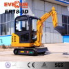 Hot Sale Er18-9d Mini Excavator with Standard Bucket for Sale