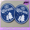 Factory Supply Cheap Oval Design Soft PVC Beer Coaster Table Mat
