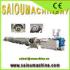 PP PE PVC Plastic Corrugated Pipe Threading Machine