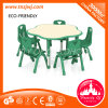 Kindergarten Study Chair Table Classroom Furniture with GS