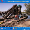 Keda Gold Mining Machine, Chain Bucket Gold Dredger