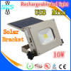 Solar lantern Rechargeable LED Flood Lamp with USB