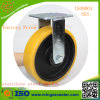Heavy Duty Polyurethnae Wheels Fixed Castor with Directional Lock
