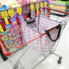 Supermarket Nylon Foldable Reusable Shopping Cart Bag