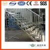 Outdoor Steel Stairs Landing for Event