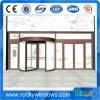 Aluminium Frame Automatic Revolving Door with Exhibition Box