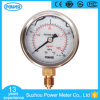 Best 160kg Diameter 60mm Stainless Steel Glycerin Oil Pressure Gauge China Manuacturer