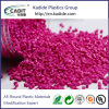 Factory Supplier Pink Color Masterbatch Plastic Material