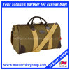 Mens Casual Canvas Duffle Bag for Long Weekends and Traveling