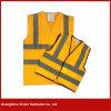 Custom Cheap High Visibility Reflective Hi-Vis Orange Safety Vest (W49)