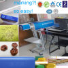 CO2 Laser Marking Engraving Machine for Rubber Tire