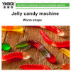 Candy Maker Candy Processing Line Deposited Worm Jelly Candy Production Line with Ce (GDQ300)