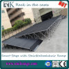 Outdoor Stage with Portable Deck for Catwalk/Events