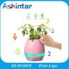 Mini Speaker Flower Plant Smart Music Pot Bluetooth Speaker with LED Light
