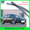 100% Fitment Weather Shields Window Visor for Hodna Tl 2013