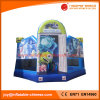 Inc Theme Inflatable Jumping Bouncy Castle with Basketball Hoop (T3-701)