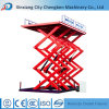 2017 New Indoor Scissor Lift Platform for Maintaining