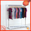 Stainless Steel Display Rack Clothes Display Unit for Store