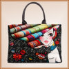 New Design Palace Style Printed Canvas Beach Bag