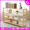 Wholesale Cheap Decorative Wooden Storage Racks with High Quality W08c230