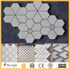 Cheap White/Black/Beige/Grey/Pink/Green Glass/Granite/Marble/Travertine/Limestone/Sandstone/Slate/Waterjet Stone 3D Mosaic for Floor/Flooring/Wall/Pool Tiles