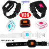 Tiny Sized Portablle Sos Smart Tracking GPS with Two Way Communication V28
