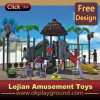 ISO9001 Approved Beach Park Plastic Outdoor Playground (X1429-8)
