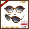 F6995 Demi Round Plastic Sunglass for Women