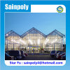 Large Agricultural Vegetable Glass Greenhouses