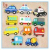 Car Shape Rubberized 3D Soft PVC Custom Cheap Refrigerator Magnet