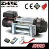 4X4 9500lbs Rated Line Pull Waterproof Electric Winch with Remote Control
