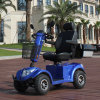 Four Wheel Handicapped Scooter LCD Display Mobility Scooter