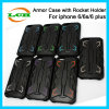 Creative Shockproof Rocket Armor Case with Holder for iPhone 7/6s/6