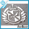Embossed Chrome Metal Sticker for Digital Products