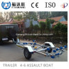 China Hot Dipped Galvanized Boat Trailer with Rollers/Utility Trailer