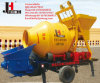 High Quality Mobile Portable Trailer Concrete Mixer with Pump Price for Sale