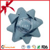 Silver Color Christmas Decoration Curly Ribbon Star Bow