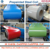 Prepainted Galvanized Aluzinc Steel Coil/ PPGI with Popular Color