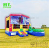 Inflatable Bouncer Combo with Removable Banner by Magic Tape