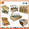 Retail Store Supermarket Wooden Fruit and Vegetable Shelving Rack (Zhv58)