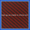 190g Twill Red Kevlar Carbon Fiber Hybrid Fabric